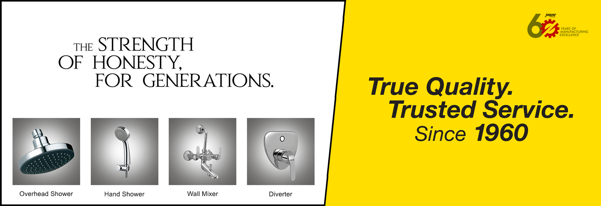 Essco showers, hand showers, wall mixers are the best in its category